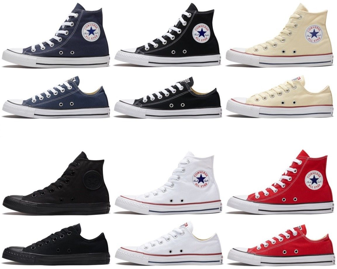 Converse Chuck Taylor All Star High-top & Low-top Athletic Shoes/Sneakers