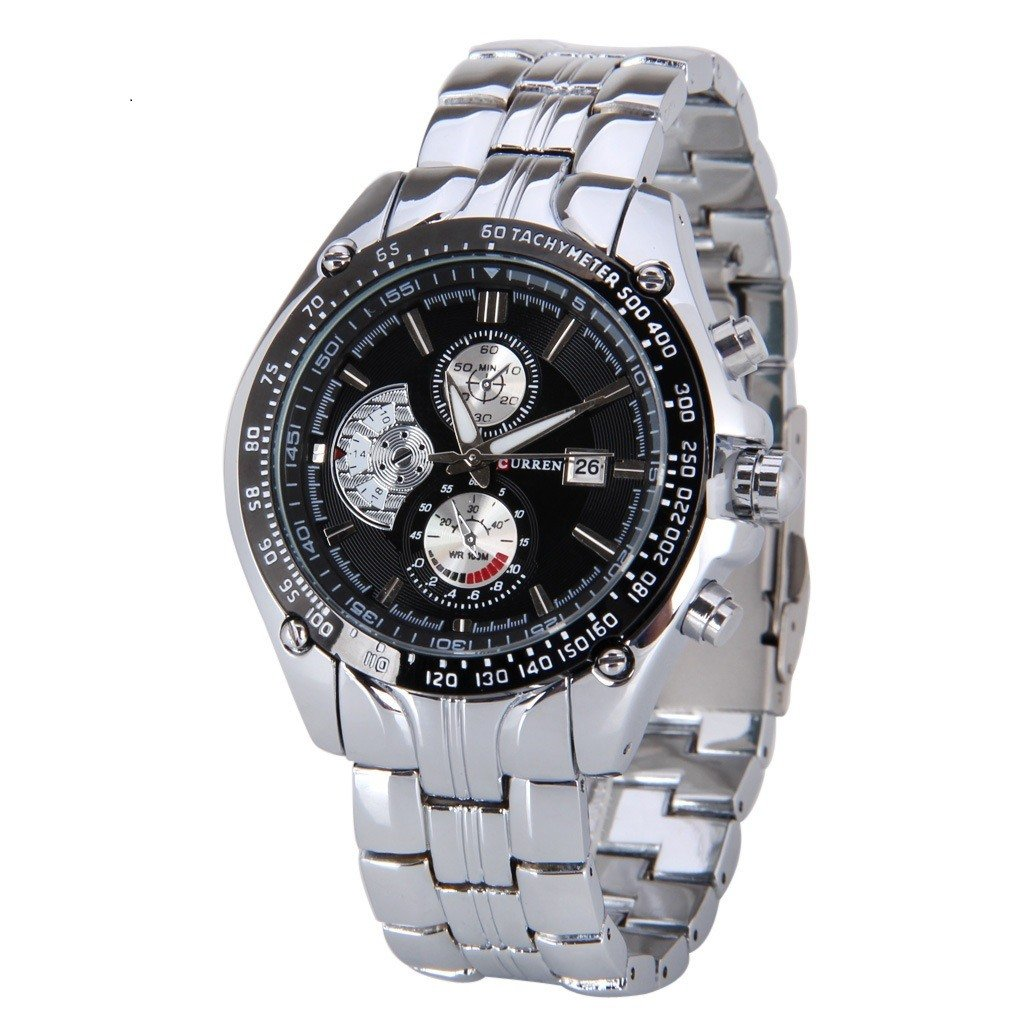 Curren 8083 Men's Stainless Steel Quartz Watch