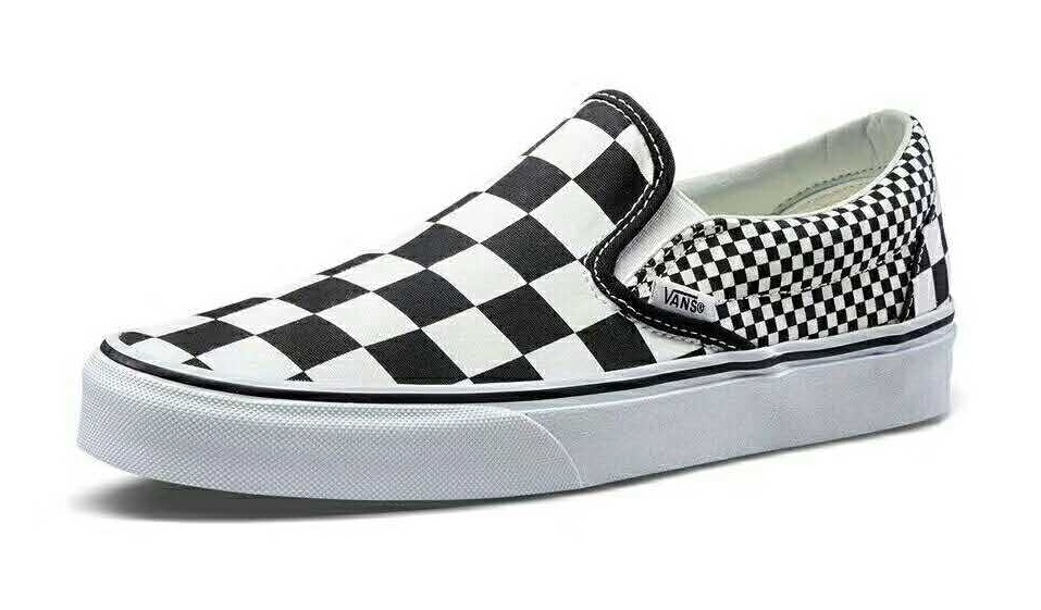 Vans Mix Checker Slip-on Skate Shoes/Sneakers