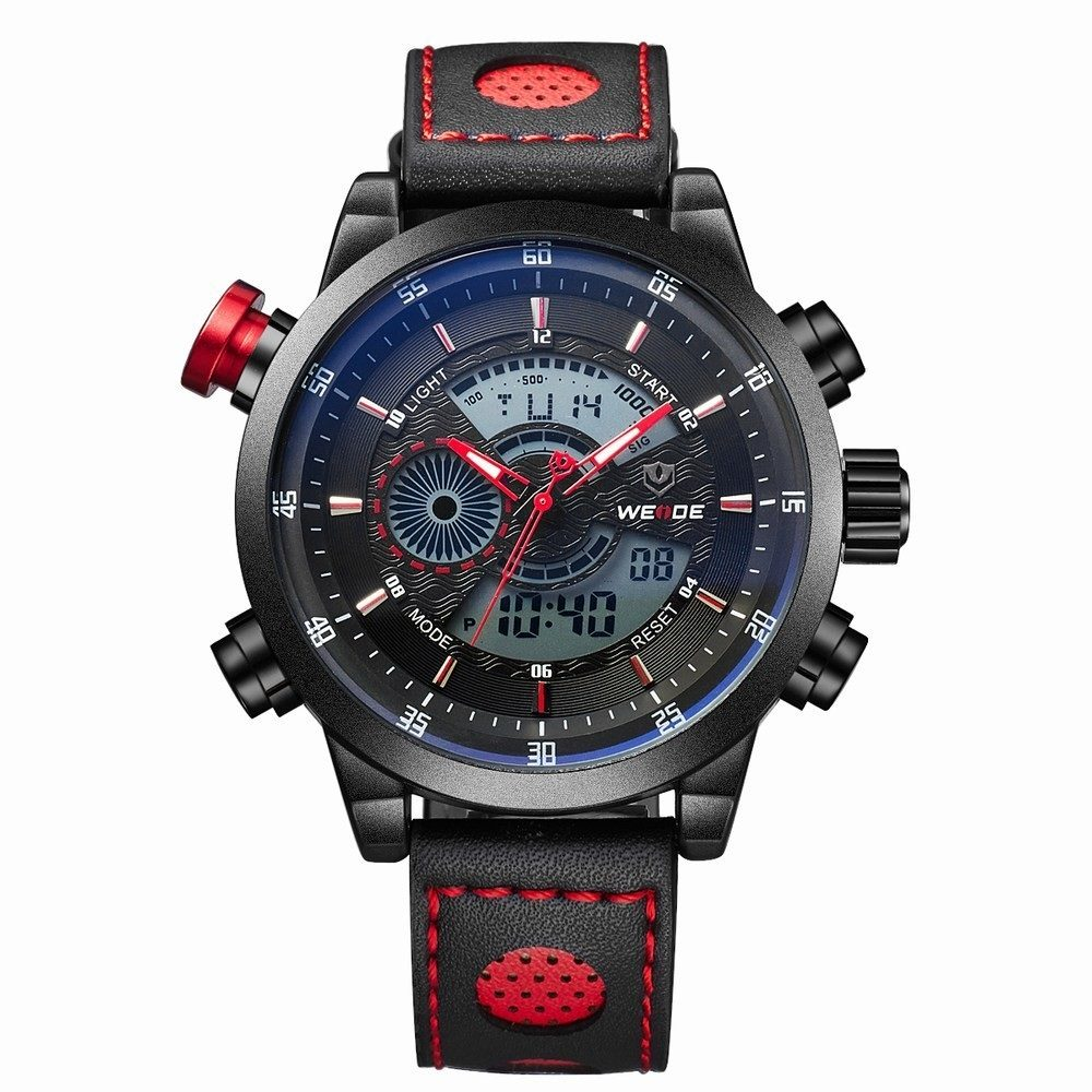 Weide 3401 Men's Dual LCD/Analog Sports Watch
