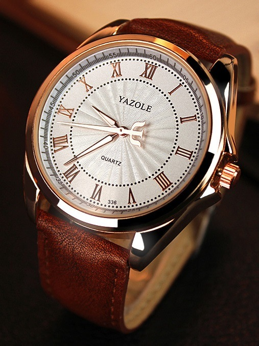 Yazole 336 Men's Quartz Business Watch