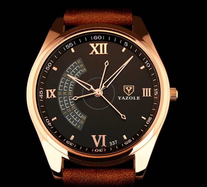 Yazole 337 Men's Quartz Business Watch